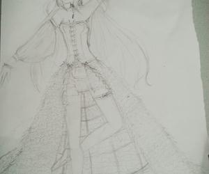 anime girl, anime vampire, and vampire queen image