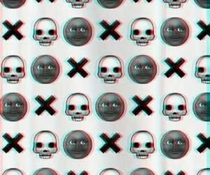 wallpaper, black, and emoji image