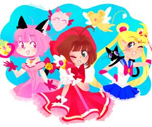 sailor moon, anime, and sakura image