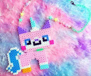 kawaii, pastel, and unicorn image