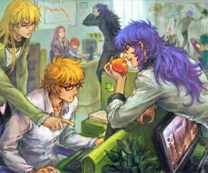 Saint Seiya and gold saints image
