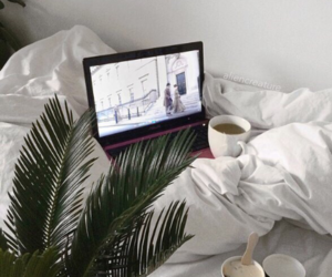 bed, home, and coffee image