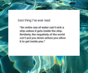 quotes, life, and sea image