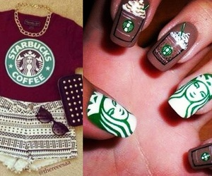 clothes, nails, and fashion image