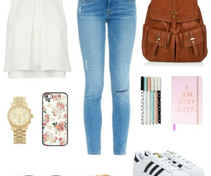 inspiration, Polyvore, and school image