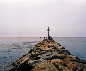 ocean, people, and sea image