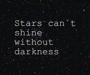 stars, Darkness, and shine image