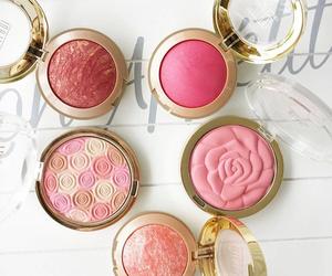 blush, makeup, and make up image
