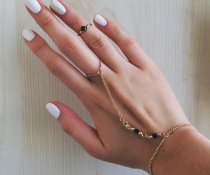 nails, accessories, and bracelet image