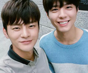 seo in guk, park bo gum, and hello monster image