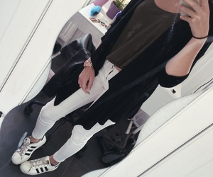 adidas originals, outfit, and ootd image