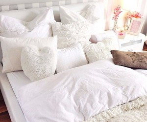 bedroom, bed, and inspiration image