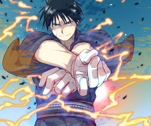 fullmetal alchemist and roy mustang image