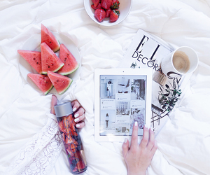 fruit, voss, and Elle image