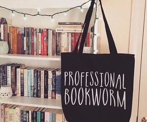 book and bookworm image