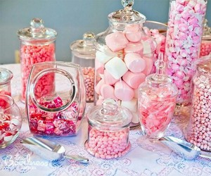 candy, pink, and delicious image