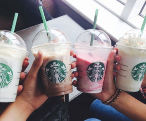 drink, starbucks, and cute image