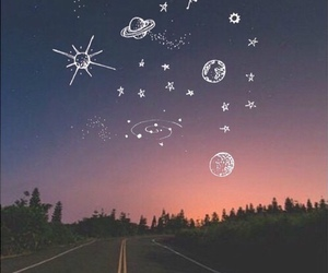 sky, wallpaper, and stars image