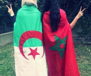 Algeria, morocco, and flag image