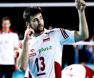 volleyball and michał kubiak image
