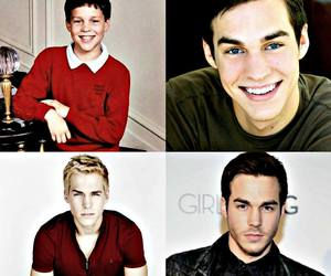 boy, handsome, and the vampire diaries image