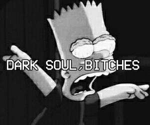 bitch, dark, and grunge image