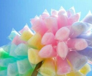 cotton candy, candy, and pink image