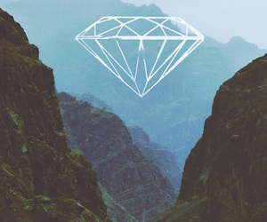 diamond, mountains, and nature image