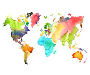 colour, world, and map image