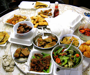 chinese food, dinner, and food image