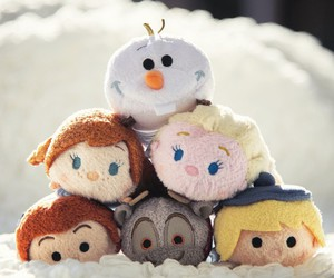 disney, frozen, and tsum tsum image