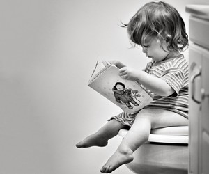 baby, reading, and book image