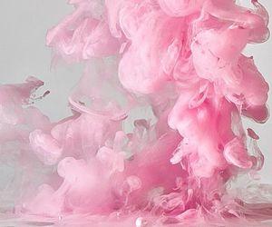 pink and smoke image