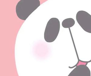 art, beautiful, and panda image