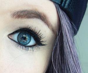 *-*, beautiful, and blue eyes image