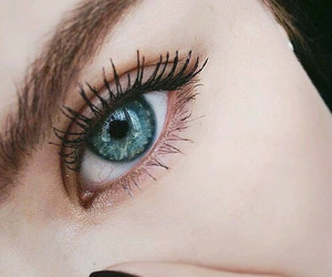 eyes, eye, and blue image