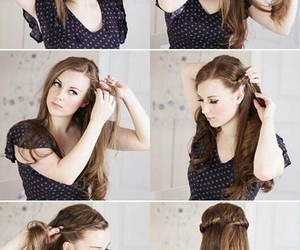 beautiful, hair, and tutorial image