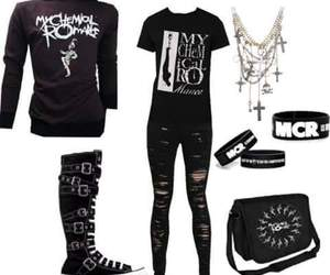clothes, mcr, and my chemical romance image