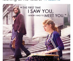 blake lively, the age of adaline, and quotes image