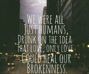 all, brokenness, and love image