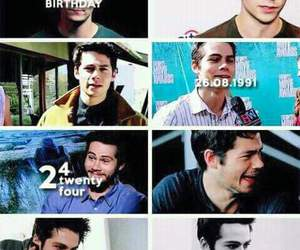 teen wolf, dylan o'brien, and happy birthday image