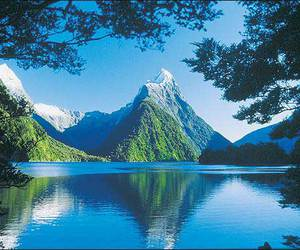 new zealand, nature, and mountains image
