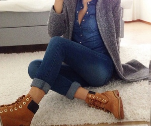 boots, fashion, and mirror image