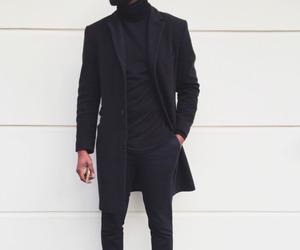 fashion, black, and boy image