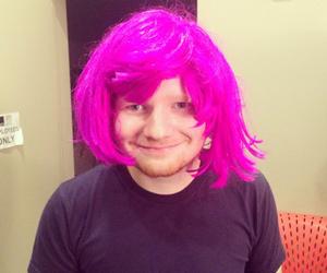 ed sheeran, pink, and funny image