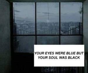 black, blue, and dark image