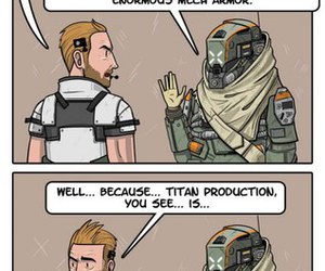funny, titanfall, and gamer image