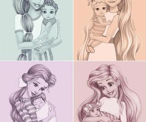 disney, princess, and ariel image