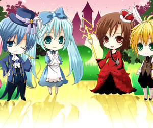 anime, chibi, and vocaloid image