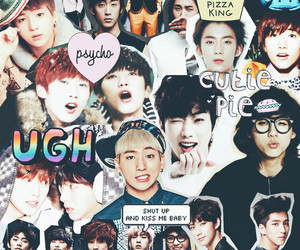 Collage, baro, and gongchan image